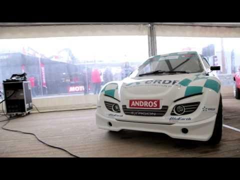 ERDF Trophée Andros Électrique 2014 - Interview de Tomer Sisley, pilote ...