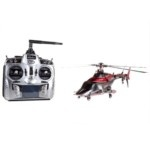 Walkera Airwolf200SD5+DEVO7 Three Axis Gyroscope RC Helicopter (Red)