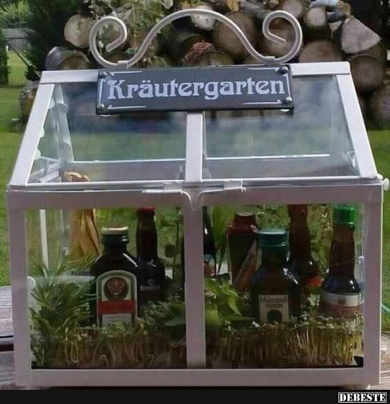 Kräutergarten | Lustige Bilder, Sprüche, Witze, echt lustig