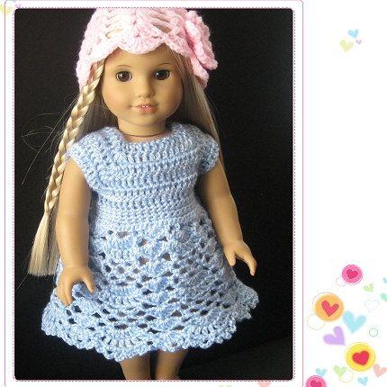 175 besten Puppenkleidung Bilder auf Pinterest | Häkelpuppen ...