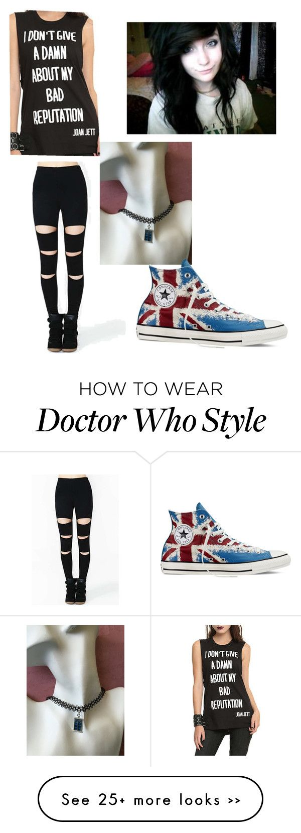 """""""Untitled #103"""" by xmirandawright on Polyvore featuring Converse"""