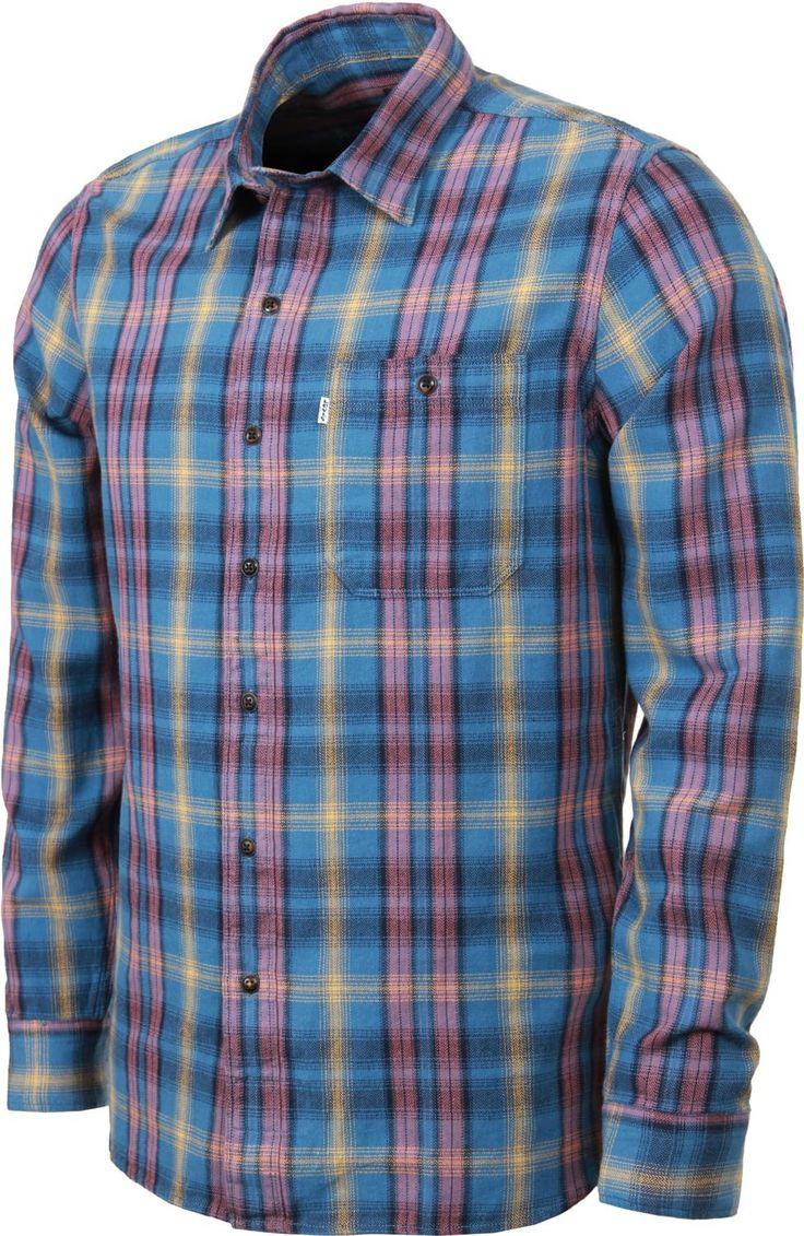 Levi's Skateboarding Maker shirt blue plaid