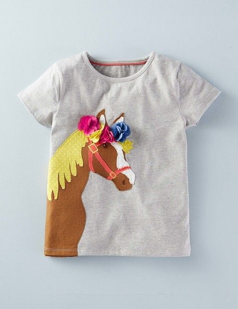 Best in Show Applique T-shirt 31972 Graphic T-Shirts at Boden