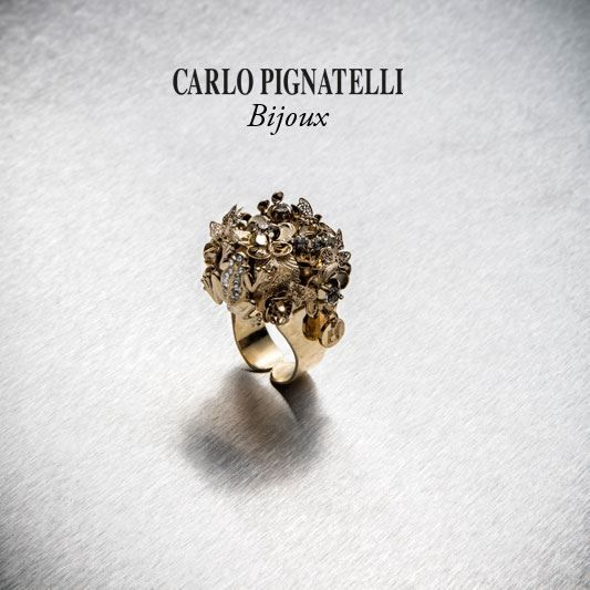 Carlo Pignatelli Bijoux - shop on line at www.carlopignatel... #bijoux #ring #jewels #accessories