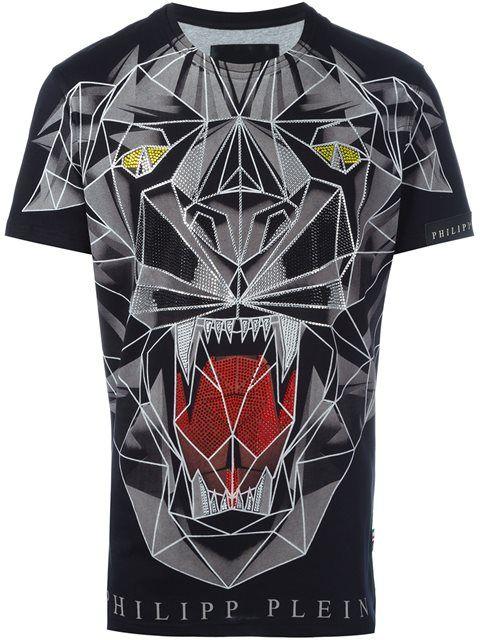 PHILIPP PLEIN 'Bite Us' T-Shirt. #philippplein #cloth #t-shirt
