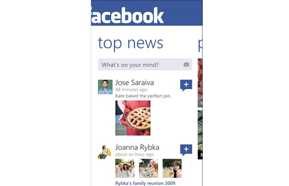 7 - my favourite must have windows phone app - FACEBOOK :) #amazingfinds