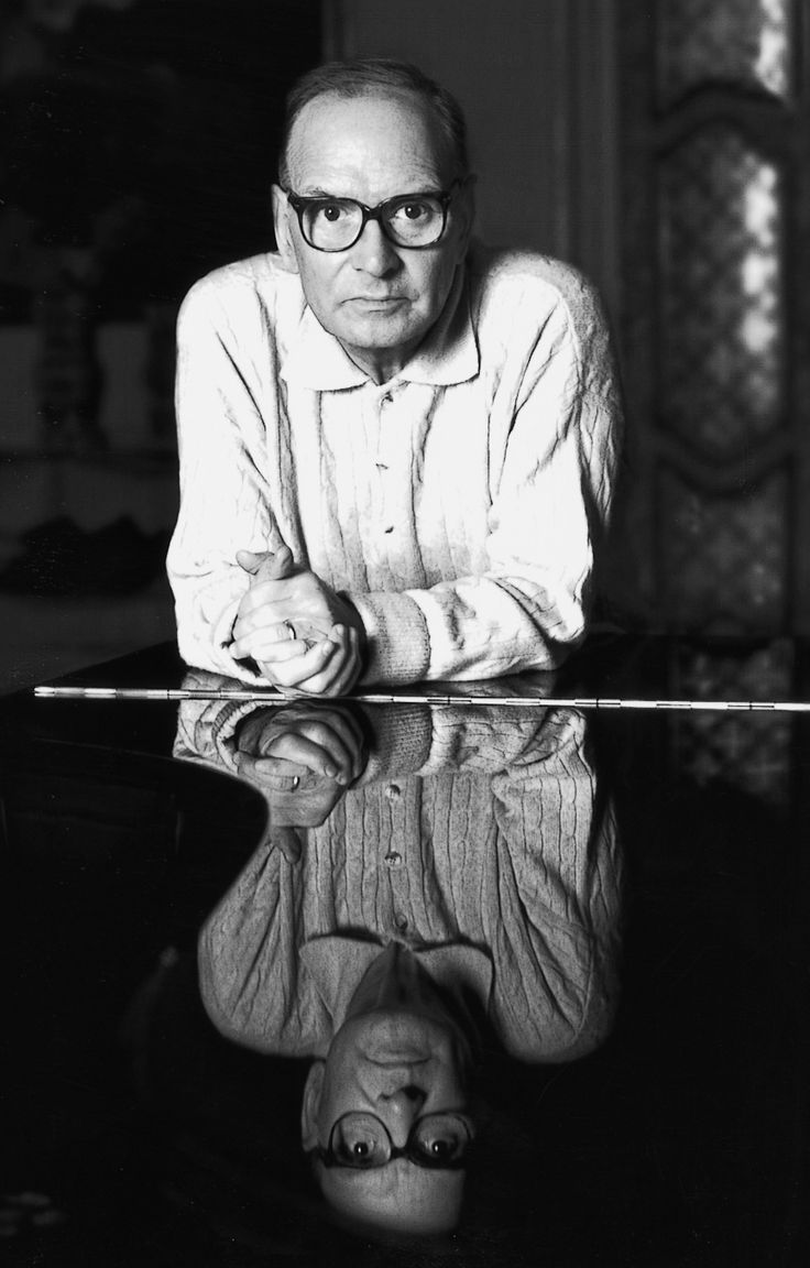Ennio Morricone, Italian composer of over 500 titles in the movies, TV, documentaries, etc in the last 50+ years.