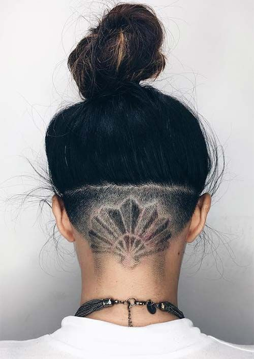 54 Badass Undercut Hair Tattoos for Women in Love with ...