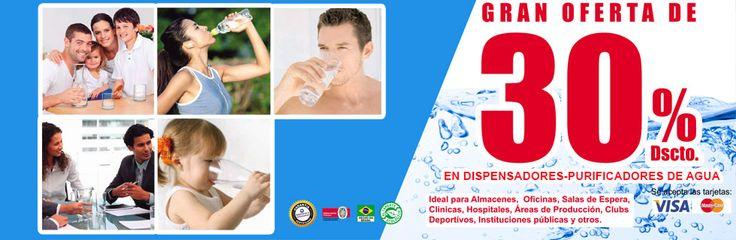 APROVECHA EL 30% DE DESCUENTO ¡#Cuidamos tu #salud y tu #economía! En Dispensadores-Purificadores de #Agua SOFT BY EVEREST. Más información: http://www.brimaliindustrial.com.pe/…/purificador-disp…/351/ visite nuestra web: www.brimaliindustrial.com.pe
