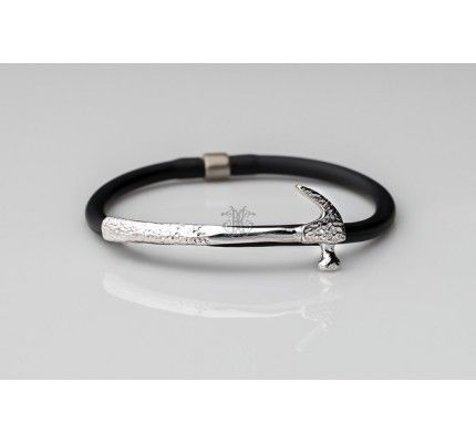 Βραχιόλι σφυρί της #TOOLS by xatziiordanou #bracelet #hummer #silver #man