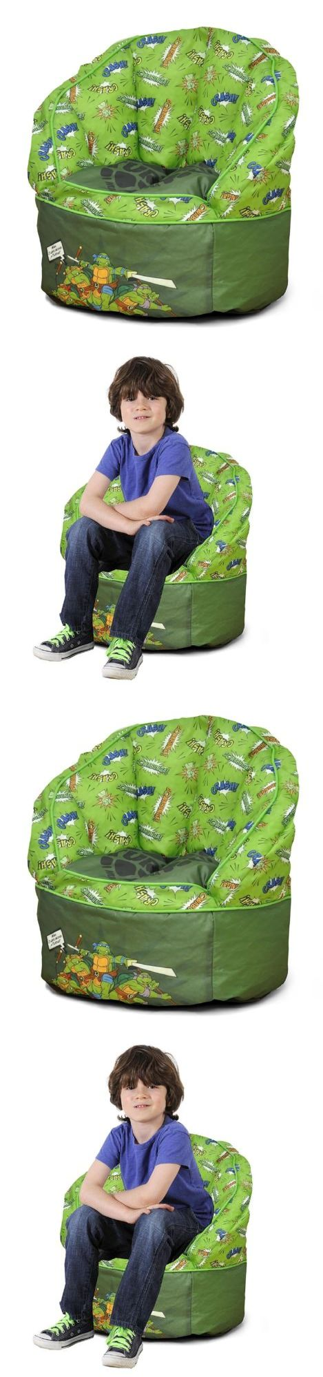 Bean Bags and Inflatables 108428: Toddler Bean Bag Sofa Chair Furniture Bedroom Seat Teenage Mutant Ninja Turtles -> BUY IT NOW ONLY: $33.33 on eBay!