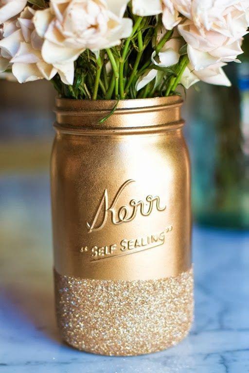 Du mat et du brillant, tout en conservant la marque vintage du pot...La classe…