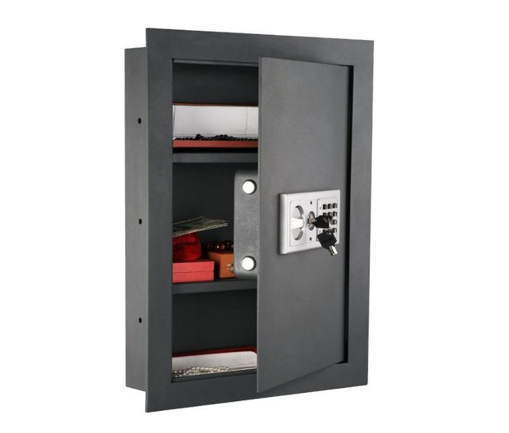 wall safes between the studs hidden gun jewelry fireproof electronic lock home