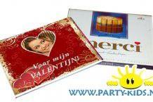 Valentijn traktatie met Merci chocolade