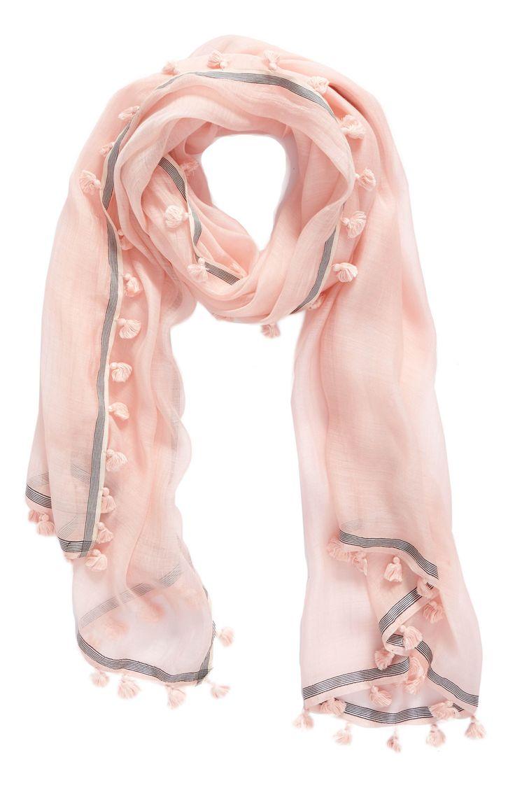 Silk Square Scarf - punk baby pink by VIDA VIDA 19MRtp