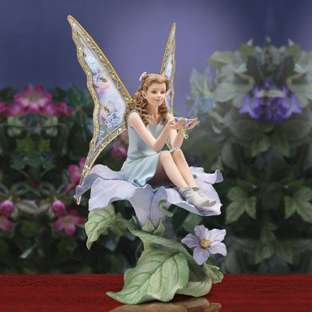 Blissful Bloom Fairy Figurine