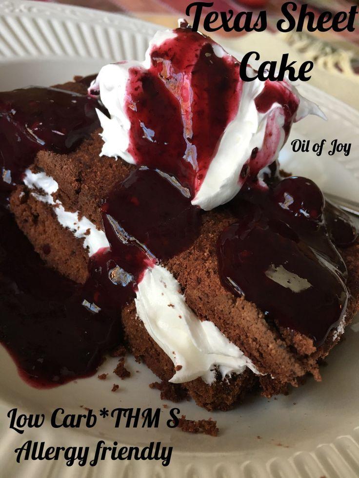 Texas Sheet Cake * Low Carb * THM S * Ei / Milchfrei! – Mit Öl der Freude gesalbt   – Recipes