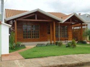 casa pré moldada madeira