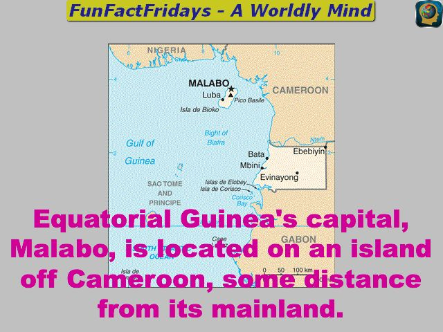 FunFactFridays - #FF - Follow for Daily #Geography #Trivia #edtech