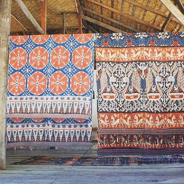 Sumba Ikat #BaliJava #treasure #inspiration #indonesia #handwoven #textiles #heritage #culture #ikat #sumba #citatenunindonesia #dennywirawan