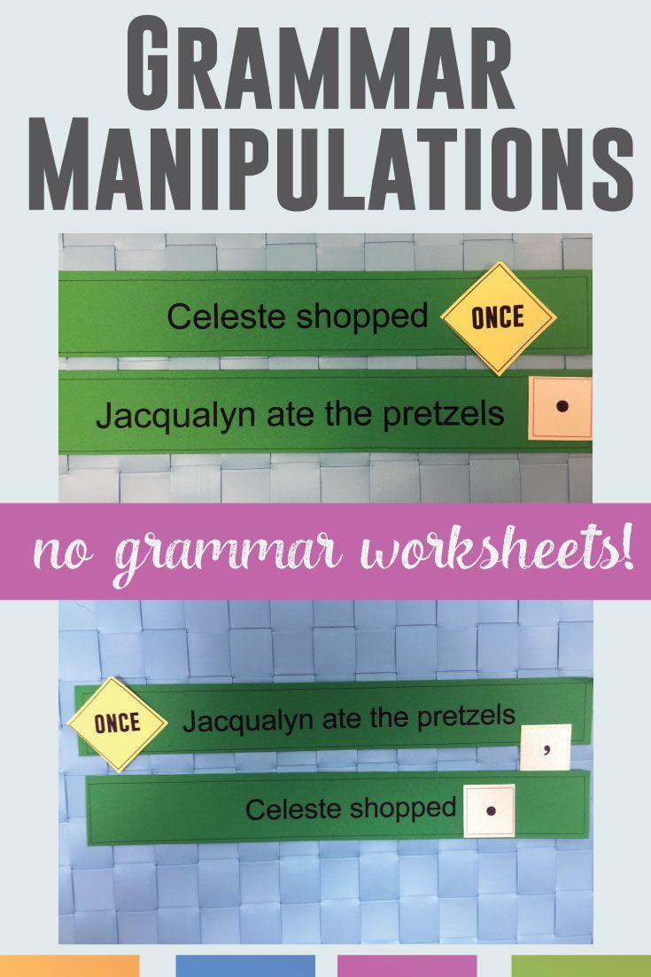 Grammar Manipulatives Language Arts Classroom Language Arts Classroom Kinesthetic Learning Activities Kinesthetic Learning [ 1102 x 735 Pixel ]