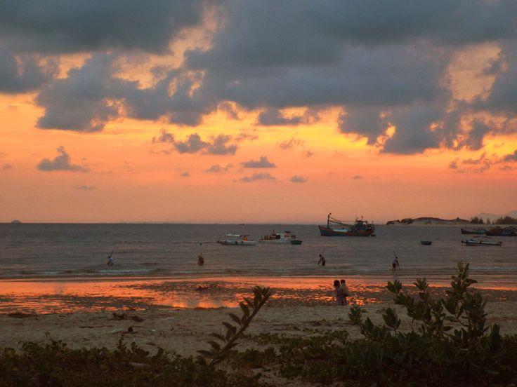 Sunset in Mui Ne, Phan Thiet