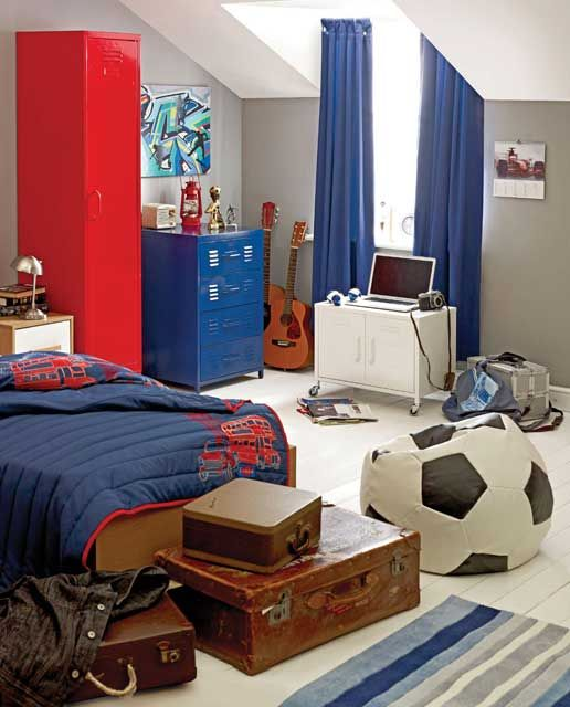 Captivating Teenage Boy Bedroom Design