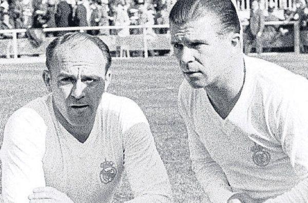 Puskas & Di Stefano Real Madrid