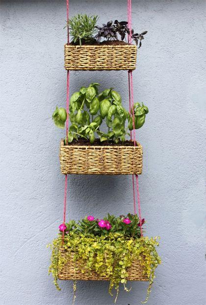 Make your own hanging garden #DIY