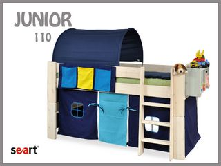 "http://www.seart.pl/junior-sosnowy-k-28.html Furniture for children must be both functional and interesting. Creating a collection of Junior tried to meet the expectations of not only parents, but also to fulfill the dreams of children. Junior collection is made ​​of high quality material pine. The project involves the individual adaptation to the needs of the ""little"" user upgradeable with the development of the child.  It's probably the only furniture in our market that grows with…"