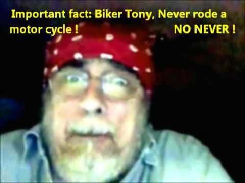 Chewing Tobacco, getting sick, by Biker Tony, for the last time  This could be one of the best short videos of our time...LOL