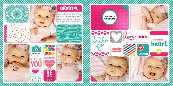 Confetti Edition 4x4 Cards – digitalprojectlife