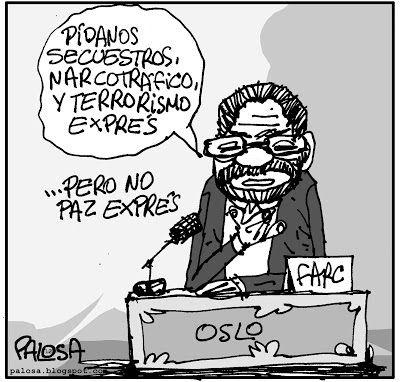PALOSA - Caricatura Editorial: SECUESTRADOS Publicado 25  de octubre de 2012