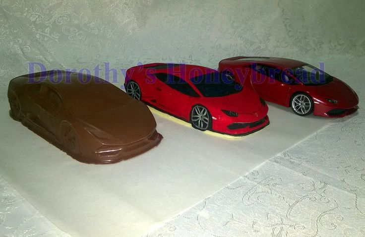 Medium scale CHOCOLATE Lamborghini Huracan. 100% Edible hollow CHOCOLATE car! HAND MADE! ~20cm long, ~300g. Milk, dark, white chocolate. To order please send us a text message or email to: dorothys.honeybre... www.dorothyshoney... #dorothyshoneybread #chocolate #chocolatecar #laborghinihuracan #lamborghini #huracan #christmas #gift #chocolatecake #chocolatemodel #choco #chocolatechelamborghinihuracan #chocolatelamborghini
