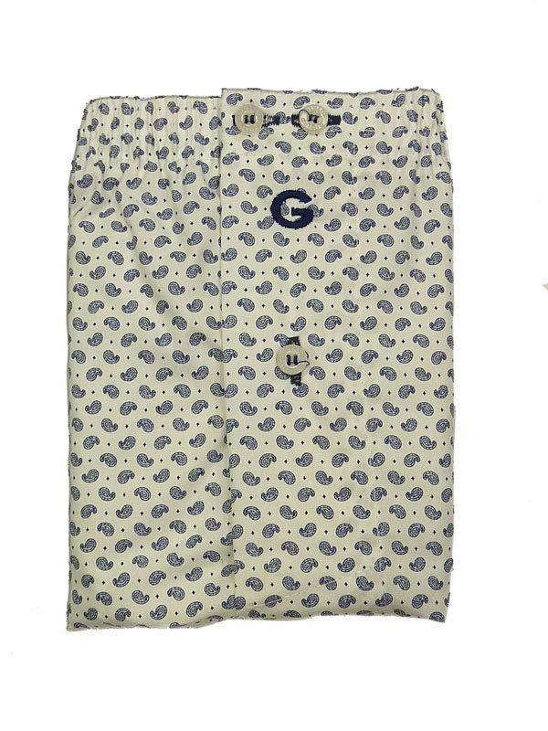 #Boxer de Tela Lerwik, Giulio - Ref: 3153 60 - Estos calzoncillos poseen una cinturilla elástica con logo bordado en la parte frontal y petrina cerrada por un botón.  #calzoncillos #hombre #modahombre #moda #ropainterior http://www.varelaintimo.com/marca/10/giulio