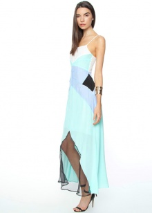 Suboo- Panelled silk maxi dress. The Suboo Al Fresco Maxi Dress has a sleeveless design