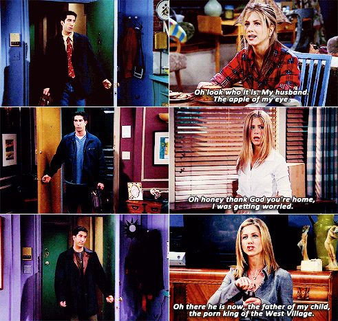 classic ross and rachel.