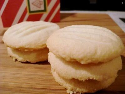 """Easy, Melt-in-your-mouth Gluten Free Shortbread Cookies, original pinner says :Delicious and you can't even tell it's gluten-free!""""- Gluten Free"""