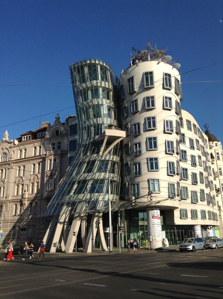 Dancing house- Prague