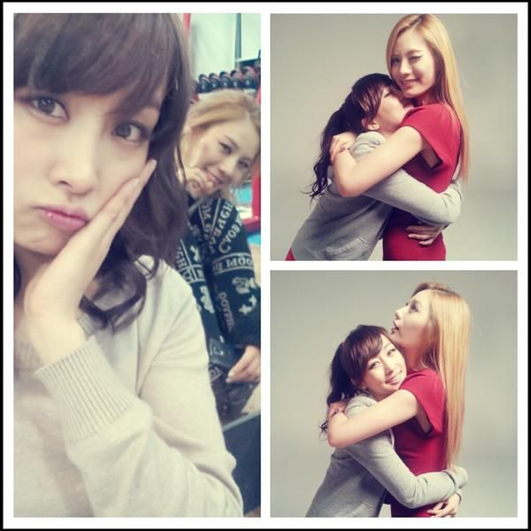 KARA's Nicole shows her friendship with After School's Nana