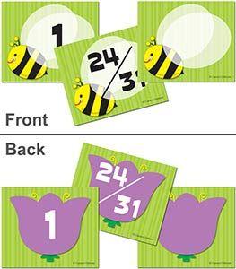 Bee Flower Calendar Cover Ups
