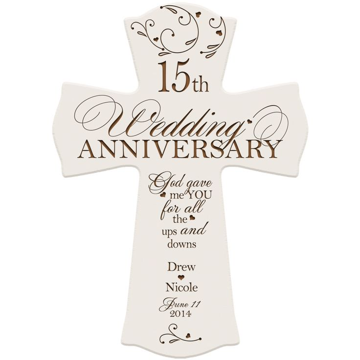 The 50 Best 15th Wedding Anniversary Gifts Images On Pinterest