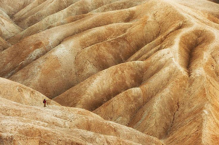 Location: Badlands in Death Valley National Park, California, USA, Troy Montemayor