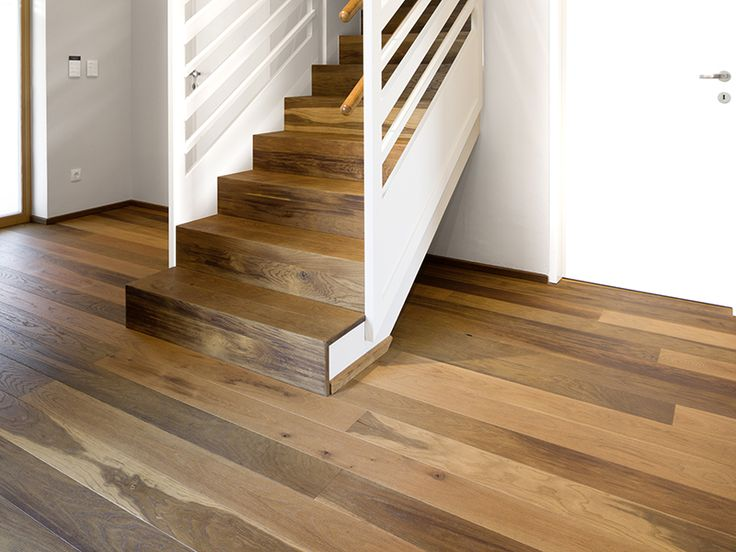 Timber Floorboards & Stair Treads & Risers | Oak Molto Vulcano Brushed Natural Oil | Mafi Timber