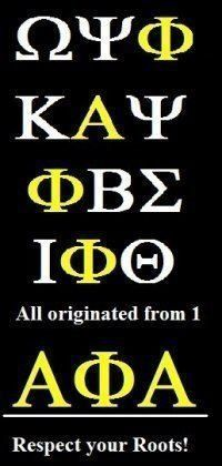 Alpha Phi Alpha Fraternity Inc. the foundation of all Black Greeks!