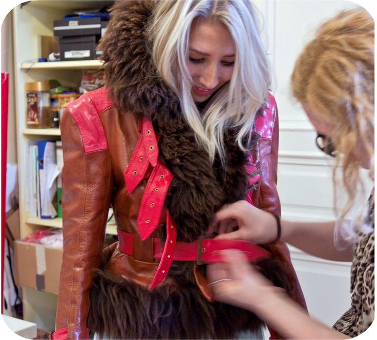 Tradicional Hungarian wear, called Ködmön by Piroshka Design http://www.budapestwithus.hu/heinrich-alkotoi-szint/