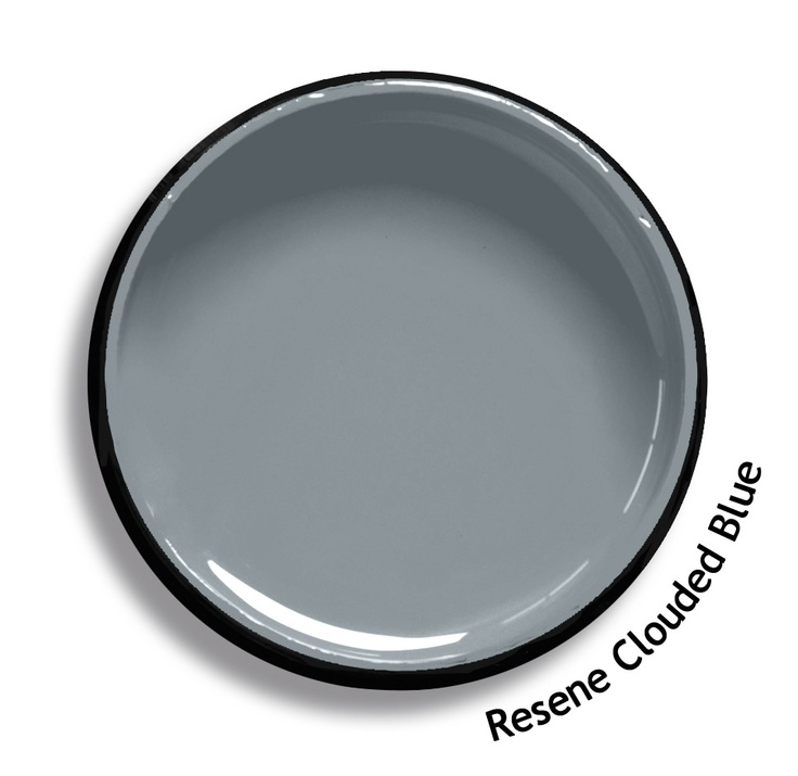 Resene Clouded Blue is a slate blue with a hint of steel. From the Resene Karen Walker Paints colour range. Try a Resene testpot or view a physical sample at your Resene ColorShop or Reseller before making your final colour choice. www.resene.co.nz/karenwalker.htm