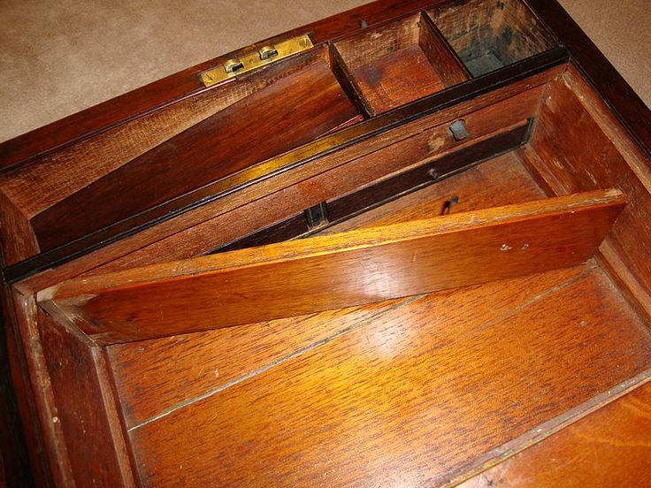 Hidden Compartment In A Desk Drawer.