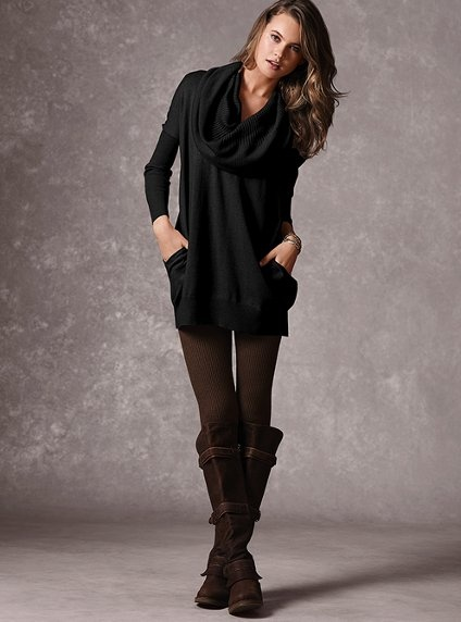 Multi-way Tunic Sweater - Victoria's Secret Love this look!!!