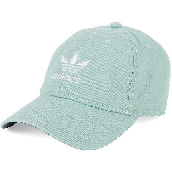 d4f023fab0b Adidas Women s Embroidered Cotton Baseball Cap ( 24) ❤ liked on Polyvore  featuring accessories